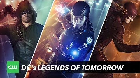DC's Legends of Tomorrow Hero Evolution The CW
