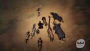 Mari stand with animals