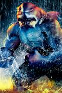 The Flash season 2 poster - King Shark