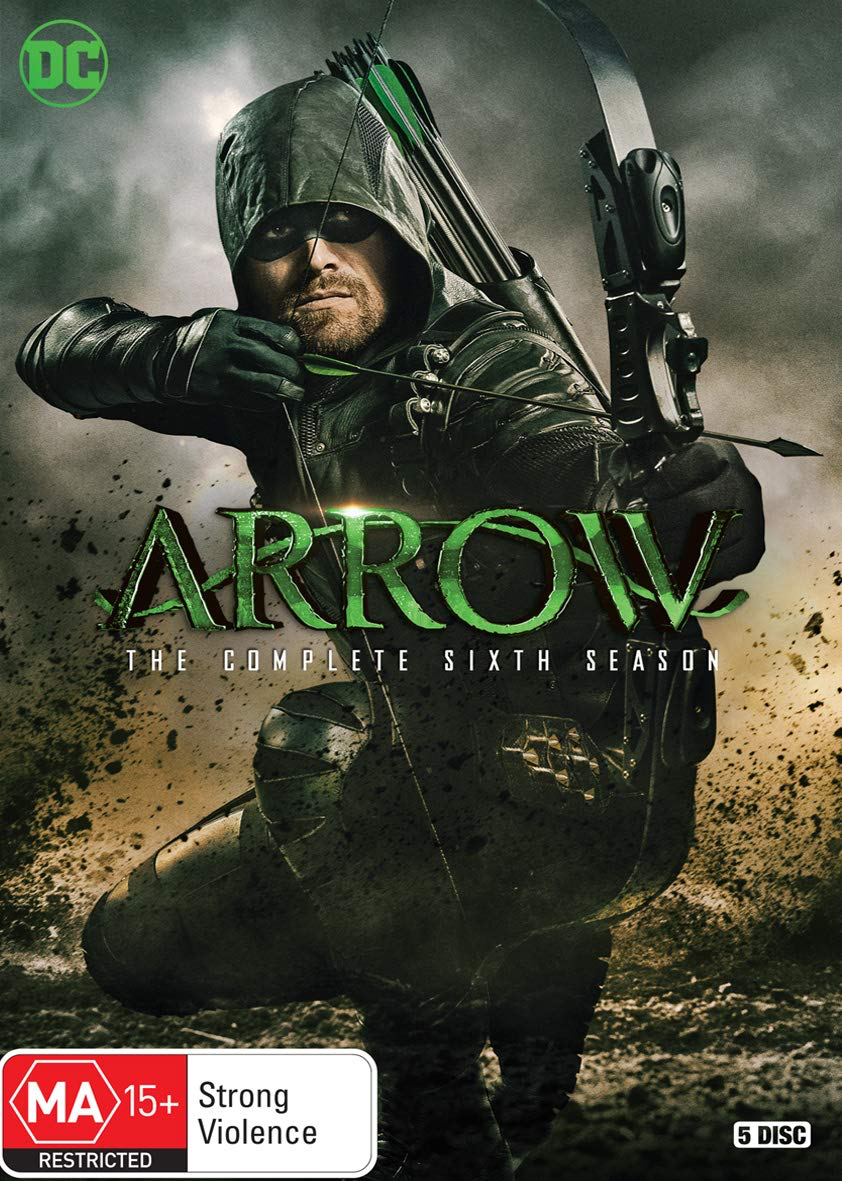 Arrow - The Complete Sixth Season region 4 cover.png