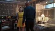 Supergirl and Flash team up (1)