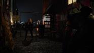 Evelyn meets Green Arrow