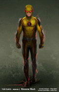Reverse-Flash concept art 2