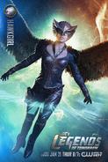 Hawkgirl DC's Legends of Tomorrow promo