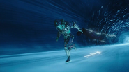 Savitar and Flash first time run in city (4)