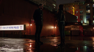 Mari McCabe and Oliver Queen says goodbye (1)