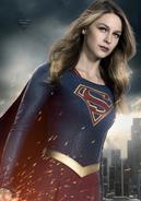 Supergirl season 2 character portrait