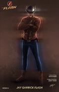 The Flash (Jay Garrick) concept artwork