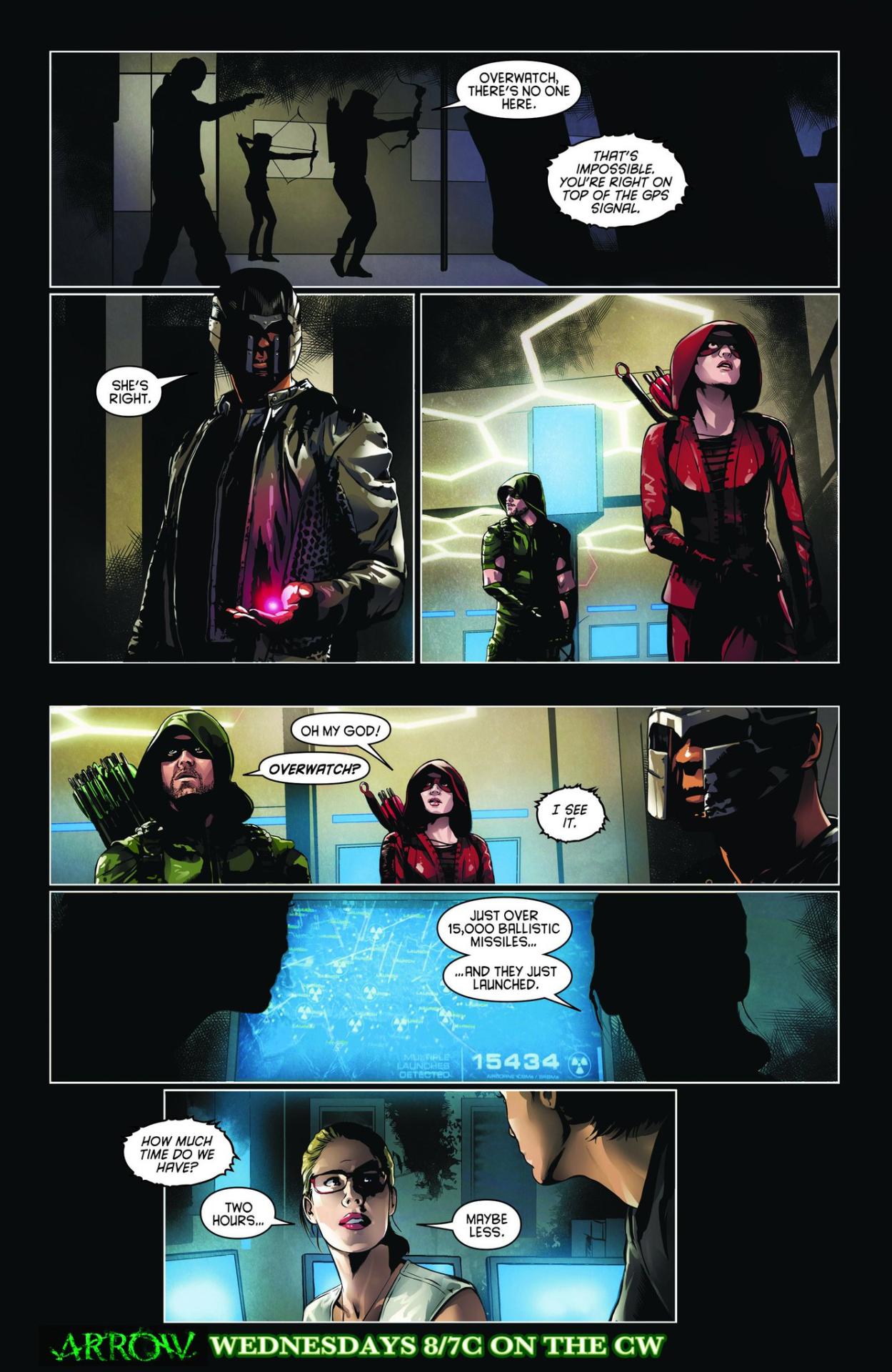 Arrow comic sneak peek - Schism.png