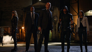 Quentin and Team Arrow