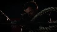 Harrison Wells (Earth-2) in gun