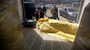 Patty Spivot help Barry Allen in crime scene (1)