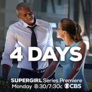 4 days until the Supergirl series premiere