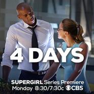 4 days until the Supergirl series premiere