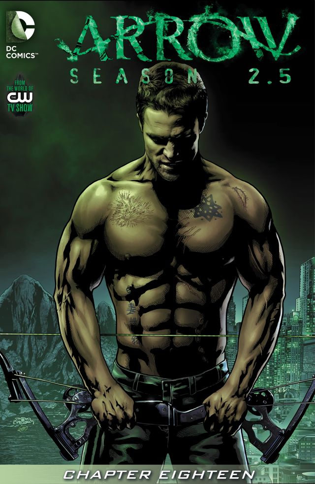Arrow Season 2.5 chapter 18 digital cover.png