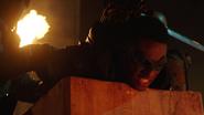 Green Arrow (Connor Hawke) fight Deathstroke (Grant Wilson) (2)