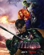 Titans - Netflix Poster