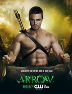Arrow promo - Mess with his friends and he may snap