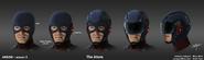 Atom (helmet) concept art