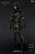 Green Arrow season 4 concept artwork