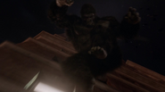 Grodd fight The Flash and go to Earth-2 (1)