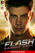 The Flash Season Zero chapter 15 digital cover