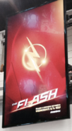 The Flash season 2 SDCC poster