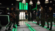 Team Arrow learn that Prometheus uses anagrams to send the Green Arrow a message