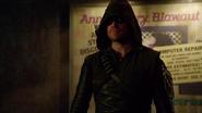 Oliver's new Arrow suit