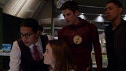 Barry Allen and team in the Flashpoint