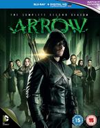 Arrow - The Complete Second Season region B cover