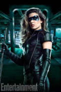 Dinah Drake in her Black Canary suit promo