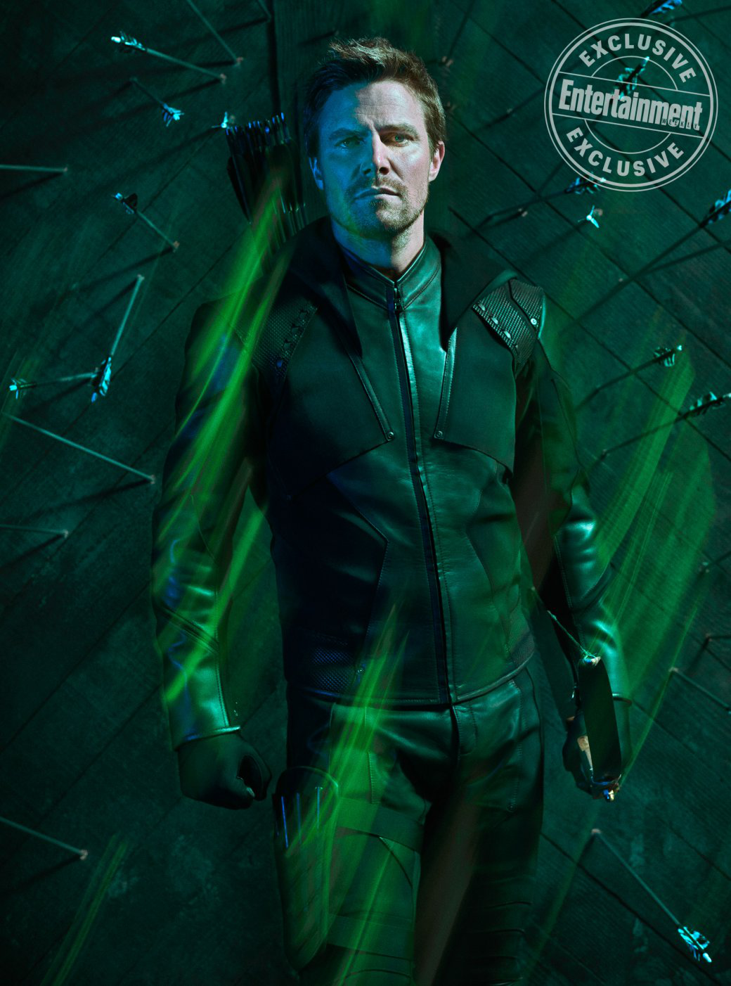 Arrow season 8 - Entertainment Weekly Oliver Queen promo 1.png