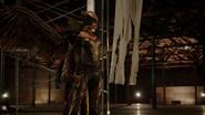 Kendra Saunders and completly Team Heroes fight in Vandal Savage (2)