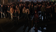 The people of the Glades prepare to fight Brick's men.png