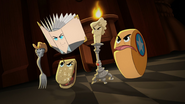 Legends as objects in the form of animation