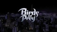 Title card de Birds of Prey