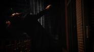 Vandal Savage fight Team Heroes in Queen loft (9)