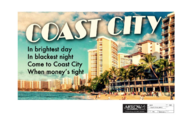 Arrow season 4 - Coast City billboard
