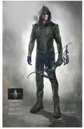 Green Arrow season 8 concept artwork
