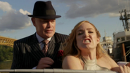 Damien Darhk and White Canary fight in 1942 (3)