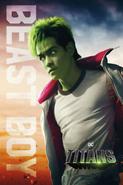 Titans - Beast Boy Poster
