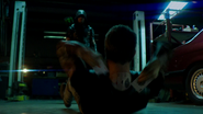 Jeremy Tell and Green Arrow frist fight (5)