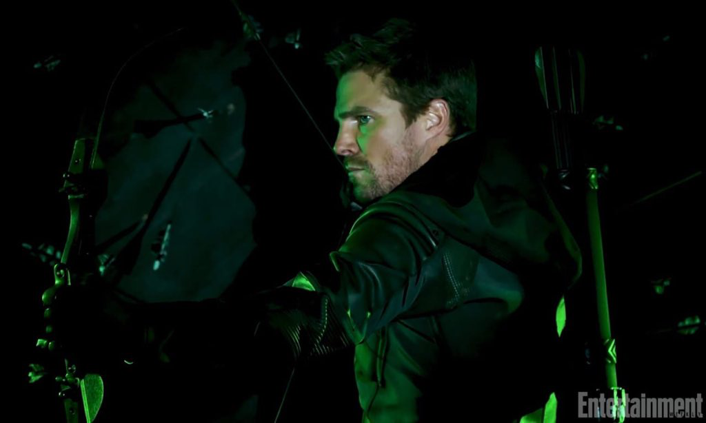 Arrow season 8 - Entertainment Weekly Oliver Queen promo 2.png