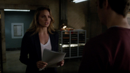 Patty Spivot receives the results of the Barry Allen (7)