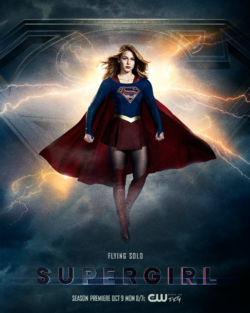 Supergirl season 3 poster - Flying Solo.png