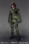 The Arrow Season 3 concept artwork - Boxing glove arrow