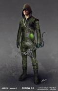 The Arrow Season 3 concept artwork - Boxing glove arrow