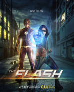 The Flash season 4 poster - Catch the Vibe