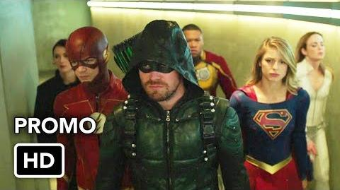 DCTV Crisis on Earth-X Crossover Promo 2 The Flash, Arrow, Supergirl, DC's Legends of Tomorrow (HD)